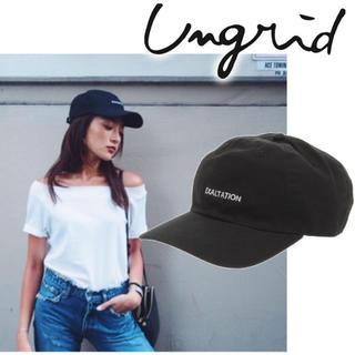アングリッド(Ungrid)のungrid cap(キャップ)