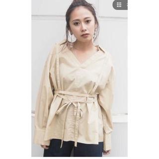 ムルーア(MURUA)のMURUA テープハーネスシャツ (シャツ/ブラウス(長袖/七分))