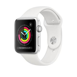 アップルウォッチ(Apple Watch)のApple Watch Series 3(GPSモデル)38mm(腕時計(デジタル))