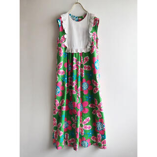 Santa Monica - vintage ハワイ ハンドメイド ドレス ワンピース ヴィンテージ