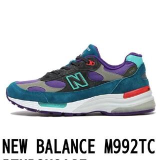 ニューバランス(New Balance)の希少★24.5cm★Concepts×ニューバランス M992TC (スニーカー)