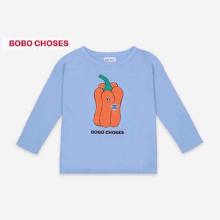 ボボチョース(bobo chose)の新作21BoboChosesボボショセス 長袖Tシャツ6-7y122cm(Tシャツ/カットソー)