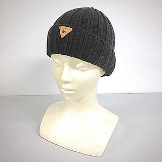 アンパサンド(ampersand)のAmpersand;【美品】ニット帽 Size 48〜50(ニット帽/ビーニー)