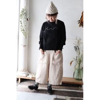 ツムグ(tumugu)のtumugu♡ソリトリネン八分丈パンツ(カジュアルパンツ)