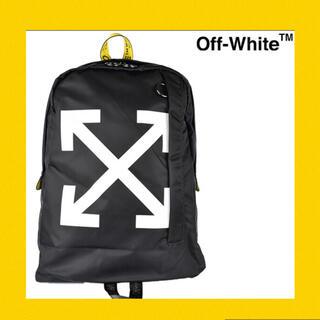 オフホワイト(OFF-WHITE)の国内正規品 本物 off-white バックパック スウェットパーカー tシャツ(バッグパック/リュック)