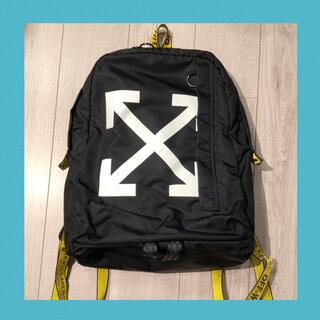 オフホワイト(OFF-WHITE)の本物 off-white バックパック リュック bag スニーカー パーカー(バッグパック/リュック)