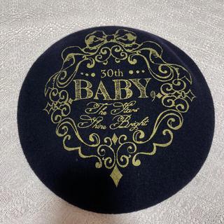 ベイビーザスターズシャインブライト(BABY,THE STARS SHINE BRIGHT)のBaby アニバーサリーベレー帽(ハンチング/ベレー帽)