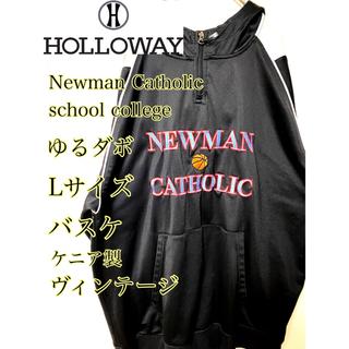 holloway バスケ ガレッジロゴ 古着刺繍ヴィンテージ 80、90's(パーカー)
