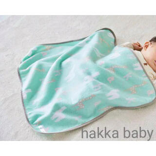 ハッカベビー(hakka baby)のHakka  baby フリースブランケット ひよこクラブ ハッカベビー(おくるみ/ブランケット)