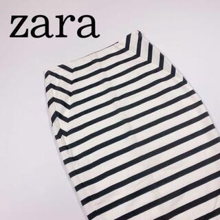 アルチュザラ(Altuzarra)の【zara trafaluc】ツートン タイトスカート Sサイズ(ひざ丈スカート)