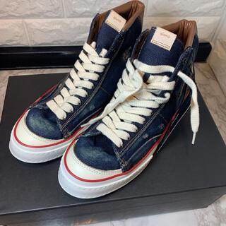 グラム(glamb)の新品未使用!glamb(グラム)Khaan denim sneakers!!(スニーカー)