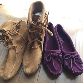 ミネトンカ(Minnetonka)のmasaki様 ミネトンカ 2足セット 大きいサイズ(ローファー/革靴)