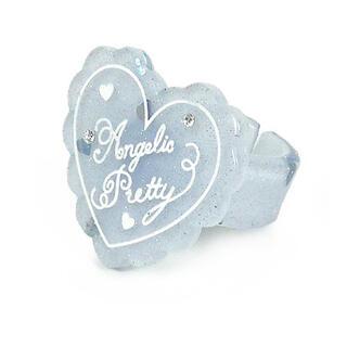 アンジェリックプリティー(Angelic Pretty)のトッピングハートリング サックス(リング(指輪))