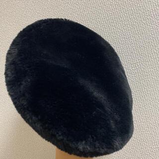 オーバーライド(override)のファーベレー帽(ハンチング/ベレー帽)