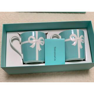ティファニー(Tiffany & Co.)のtiffany&co ペアリボンマグカップ(マグカップ)