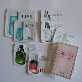 ディオール(Dior)のディオール サンプルセット              美容液  香水(美容液)