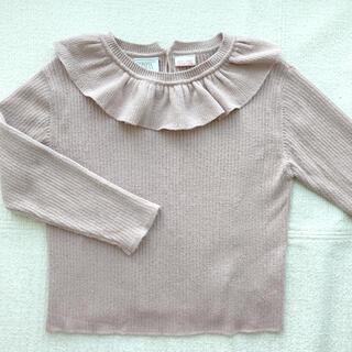 ZARA KIDS - ZARA ベイビー くすみピンク ニット セーター 104センチ