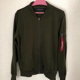 MA-1 ジャケット ブルゾン メンズ(ブルゾン)