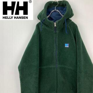 ヘリーハンセン(HELLY HANSEN)のHELLY HANSENヘリーハンセンジップアップフリースブルゾンパーカー M(ブルゾン)