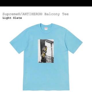 シュプリーム(Supreme)のsupreme antihero balcony tee 新品未使用(Tシャツ/カットソー(半袖/袖なし))