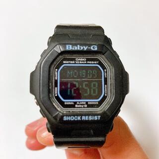 ベビージー(Baby-G)の【超特価】Baby-G 腕時計 ブラック×ブルー【限定1点】(腕時計(デジタル))