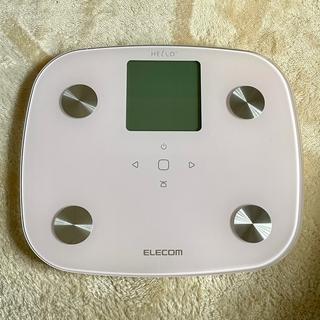 エレコム(ELECOM)のELECOM HCS-FS02PN 体組成計ピンク(体重計/体脂肪計)