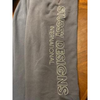 ステューシー(STUSSY)のstussy designs international スウェットパンツ(スラックス)