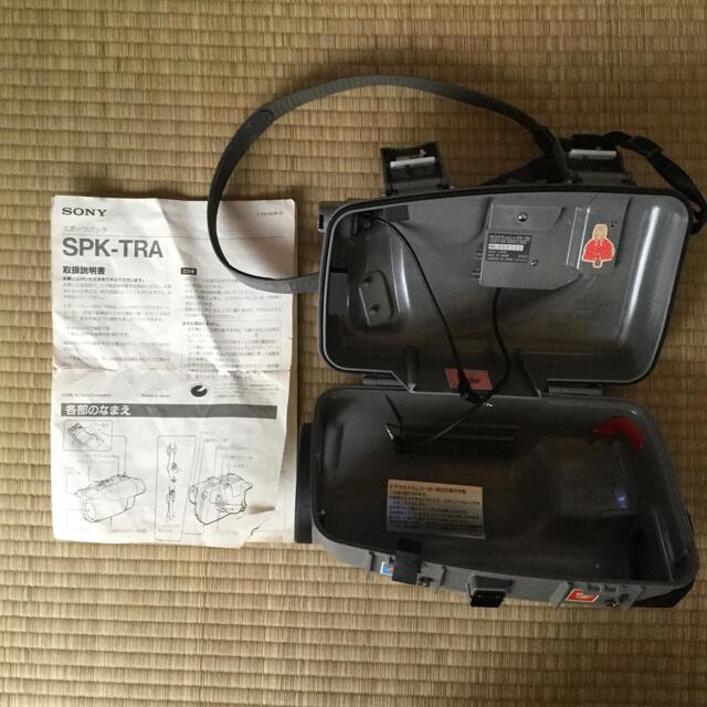 SONY(ソニー)のソニー ハンディカム スポーツパック SPKーTRA 水中利用 スマホ/家電/カメラのカメラ(ケース/バッグ)の商品写真