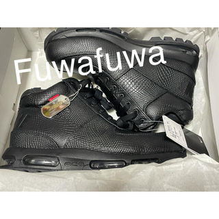 ナイキ(NIKE)のSUPREME × NIKE AIR MAX GOADOME  BLACK(スニーカー)