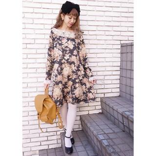 エディットフォールル(EDIT.FOR LULU)の今週限定 新品 flower onepiece♡(ひざ丈ワンピース)