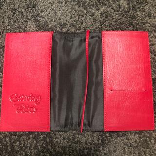 グレースコンチネンタル(GRACE CONTINENTAL)の【未使用】新作★カービングトライブス book cover A6(ブックカバー)