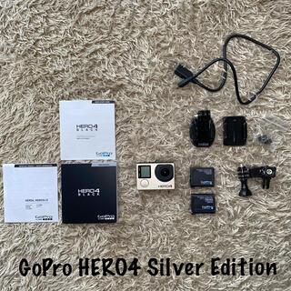 ゴープロ(GoPro)のGoPro HERO4 (Silver)(コンパクトデジタルカメラ)