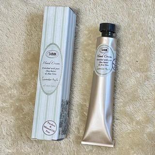 サボン(SABON)の(新品未使用)SABON ハンドクリーム30ml ラベンダー&アップル(ハンドクリーム)