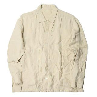 シー(SEA)のTHEE Linen shirts 長袖シャツ メンズ(シャツ)