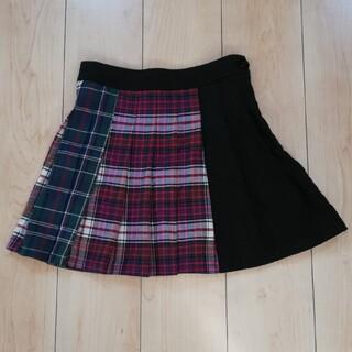ベルシュカ(Bershka)のベルシュカ チェックプリーツスカート XS(スカート)