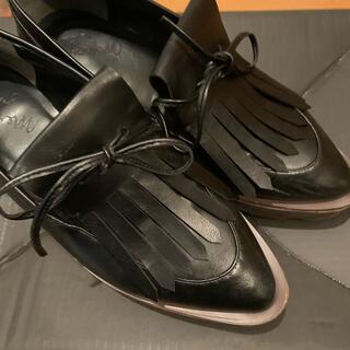メリージェニー(merry jenny)のmerry jenny スカラップソールオックスフォード(ローファー/革靴)