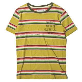 エオトト(EOTOTO)のEOTOTO NATIVE BORDER TEE 半袖Tシャツ メンズ(ストール)