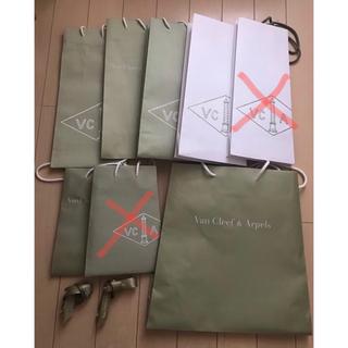 ヴァンクリーフアンドアーペル(Van Cleef & Arpels)のショップ袋 *ヴァンクリーフアンドアーペル*Van Cleef& Arpels*(ショップ袋)