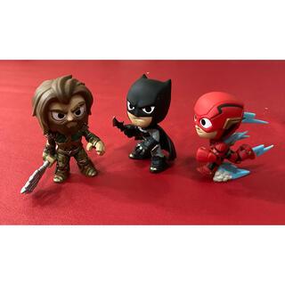 ディーシー(DC)のバットマンアクアマンフラッシュのフィギア(キャラクターグッズ)
