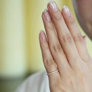 ヨンドシー(4℃)の♡4℃ダイヤハーフエタニティリング♡(リング(指輪))