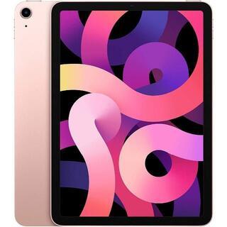 アップル(Apple)の【新品未使用】iPad Air 4 64GB Wi-Fi ローズゴールド(タブレット)