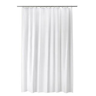 イケア(IKEA)の新品 IKEA ビエルセン シャワーカーテン ホワイト 180×200cm(カーテン)