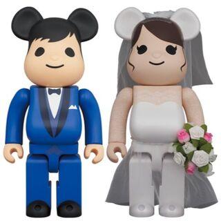 メディコムトイ(MEDICOM TOY)のBE@RBRICK グリーティング結婚 4 PLUS 400% & 100%(その他)
