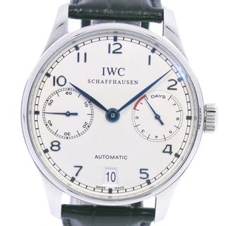 インターナショナルウォッチカンパニー(IWC)のアイダブリューシー シャフハウゼン ポルトギーゼ 7DAYS ca(腕時計(アナログ))