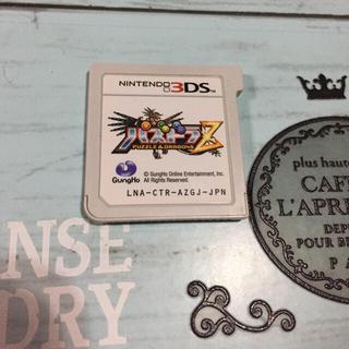 ①パズドラZ 3DS まとめ買い大歓迎(家庭用ゲームソフト)