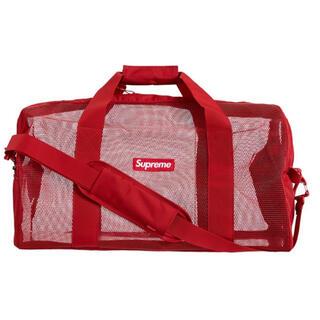 シュプリーム(Supreme)のSupreme big duffle bag Dark red(ボストンバッグ)