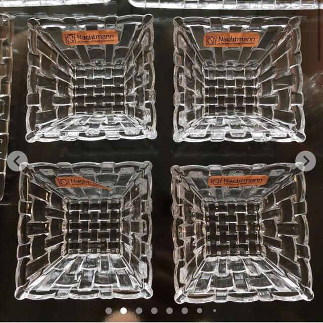 Nachtmann(ナハトマン)の♦︎新品・未使用♦︎ナハトマン bossa novaスクエア16点セット インテリア/住まい/日用品のキッチン/食器(食器)の商品写真
