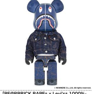 メディコムトイ(MEDICOM TOY)のbape levis bearbrick 1000 400(その他)