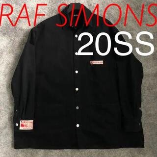 ラフシモンズ(RAF SIMONS)の最終値下げRAF SIMONS 20SS デニムジャケット カバーオール(Gジャン/デニムジャケット)
