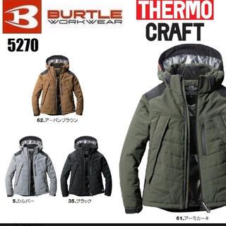 バートル(BURTLE)のバートル サーモクラフト Lサイズ 長袖 ブラック(その他)